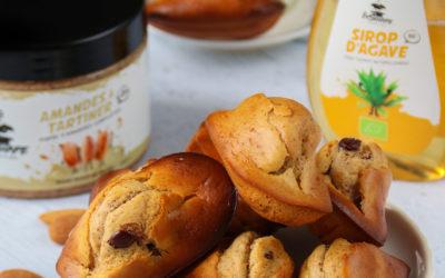 Madeleines sans beurre aux amandes à tartiner Inshape Nutrition