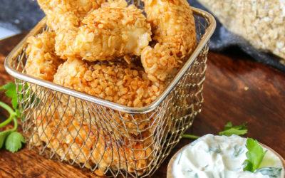 Nuggets de poulet aux flocons d'avoine baby Inshape Nutrition