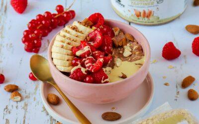 Porridge facile & gourmand framboise